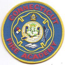 **CONNECTICUT FIRE ACADEMY FIRE PATCH**