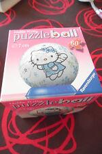 Puzzleball Hello Kitty (diamètre 7cm - 60 pièces) complet et très bon état