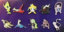 Pokemon Pin Collection - 10 Unique Pins Great Holiday Gifts / Stocking Stuffers
