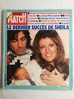 N939 Magazine Paris-Match N°1351 19 avril 1975 le dernier succès de Sheila