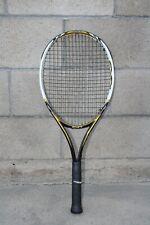 PRINCE EXO3 Hybrid Gold 107 Size 4 4 1/2 Grip Tennis Racket Racquet EUC