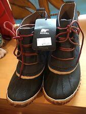 womens sorel waterproof boot blue size 7