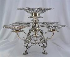Superb Edwardian Sterling Silver Epergne James Dixon & Sons, Sheffield c.1908