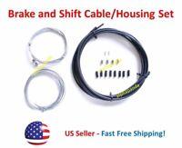 Universal Brake Shifter Cables Housing Set Kit Road Mountain Bike Hybrid Cycling