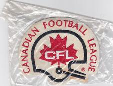 ORIGINAL WOOL CFL CANADIAN FOOTBALL LEAGUE PATCH