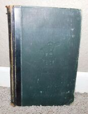 1896 TEXT BOOK OF PLANE SURVEYING by William G Raymond   LEATHER