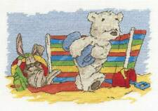 DMC Cross Stitch Kit - Lickle Ted - Lickle Holidays