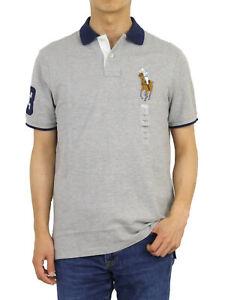 Polo Ralph Lauren Classic Fit Big Pony Short Sleeve Polo Shirt -- 3 colors--