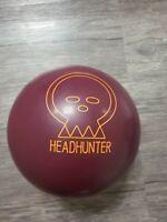 Vintage Brunswick Headhunter Bowling Ball 12 Lbs. Magenta b046