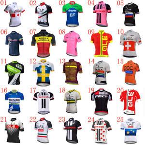 2021 Summer Cycling short sleeve Jersey Mens bicycle shirt breathable bike Tops