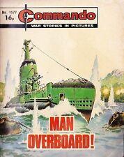 Commando For Action & Adventure Comic Book Magazine #1577 MAN OVERBOARD!