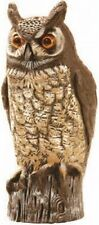 Gardeneer By Dalen Natural Enemy Scarecrow Great Horned Owl , New, Free Shipping
