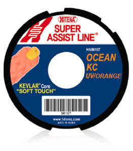 [HITENA] Assist Cord KC (Core Made with Genuine Dupont Kevlar) UV Orange