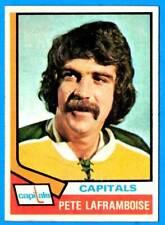 1974-75 Topps #166 PETE LAFRAMBOISE (ex+) Washington Capitals