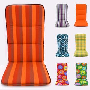 Best Freizeitmöbel Gartenmöbel Kissen Stuhl-Sitz-Auflage Hochlehner Sitzpolster