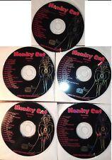 Honky Cat Karaoke 5 CDG set HC0001 - HC0005 New! Rare!
