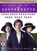 Sufragista Carey Mulligan Helena Bonham Carter Pathe GB 2016 Región 2 DVD Nuevo