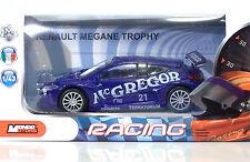 MondoMotors Renault MEGANE TROPHY Blu/Race  - RACING Metal 1:43