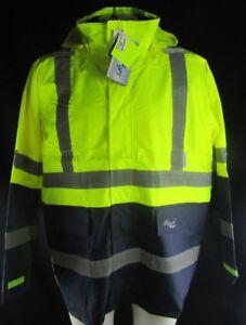 Vikingwear Journeyman 3000 Hi Vis Waterproof Jacket Big & Tall Men's