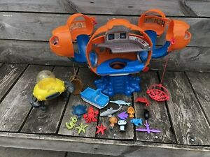 Octonauts Octopod Playset Figures Sea Creatures Bundle Toys