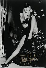 OFFICIAL WEBSITE Traci Lords Sexy Biker Chick Glamour 8x10 AUTOGRAPHED