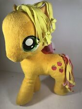 "My Little Pony Applejack Plush 13"" Yellow with Apples Stuffed Animal Toy 2013"