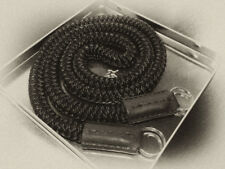 "Custom made silk camera round cord strap 7/16"" x 35"" for Leica Fuji Nikon Pentax"
