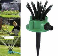 Rasensprenger 360° Grad Sprühregner Gartensprenger Rasen Regner Wassersprenger
