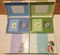 Full Set of 4 2017 BEATRIX POTTER GIFT SET Silver Proof 50p Coins