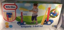 Little Tikes TotSports T-Ball Set Primary Colors -New!