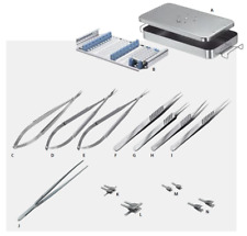 Micro Hand Surgery Basic Set Of Micro Surgical Instruments
