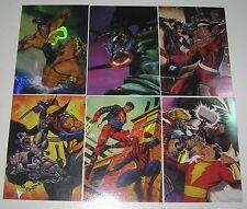 1995 DC versus MARVEL HOLO FX (F/X) CARD SINGLES vs.