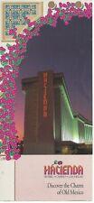 Vintage Hacienda Hotel & Casino, Las Vegas Advertising Brochure - Good Condition