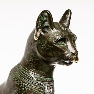 Egyptian Cat Bastet - Anderson (ca. 600BC) Sculpture, Art, Gift, Ornament.