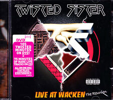 TWISTED SISTER live at wacken the reunion DVD + CD NEU OVP/Sealed