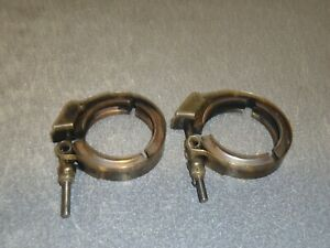 GM Exhaust Turbo Clamp Lot of (2) 4560-200s Chevrolet Chevy GMC 6.2L 6.5L Diesel