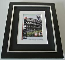 Phil Neal SIGNED 10x8 FRAMED Photo Autograph Display Liverpool European Cup 1984
