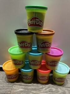 Brand New Play-Doh Tubs X10 Multicoloured. Free Delivery 🚚