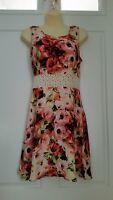 NEW! Jack. Floral Lace Dress Sleeveless Summer Zip Back SZ/S NWOT