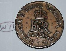 Canada 1953 Queen Elizabeth II Coronation Medal - Token Lot #W71