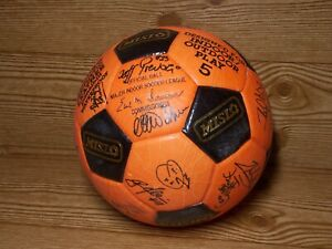 VINTAGE Official MISL BALTIMORE BLAST TEAM SIGNED SOCCER BALL Game used?