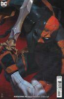 Deathstroke Comic 44 Cover B Variant Riccardo Federici First Print 2019 DC