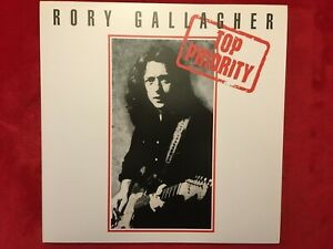 RORY GALLAGHER   TOP PRIORITY   LP  2012  MOVLP-625   ROCK   33RPM   M-  GERMANY