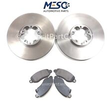 FRONT BRAKE DISCS AND PADS FORD TRANSIT MK6 2000-2006 REAR WHEEL DRIVE