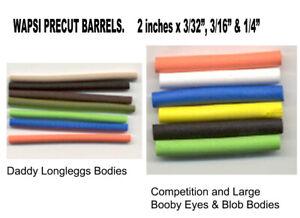 Wapsi Precut Hi Density Foam Barrels, for 'Daddy' Bodies, Boobys & Blobs