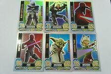Force Attax Clone Wars Serie 5 LE Limitierte Auflage aussuchen Neu Star Topps