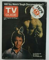 TV Guide Collector's Classics Reissue July 28,1979- The Incredible Hulk- New