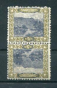 Saar 53A Kdriii Kehrdruckpaar Mint (76267