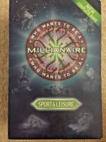 Who Wants to be a Millionaire sport and leisure edition Board Game - Complete