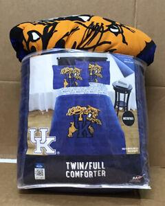 NCAA Kentucky Wildcats Twin/Full Bedding Comforter